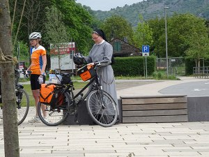 In Germany, even nuns bike tour!
