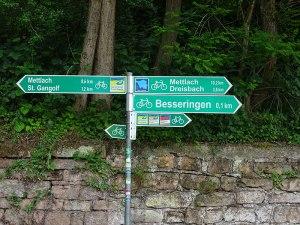 Hmmm ... Which way to Mettlach?Hmmm ... Which way to Mettlach?