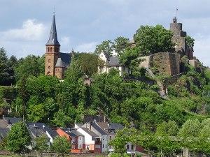 Saarburg's  castle