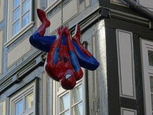 Spiderman in Marburg.