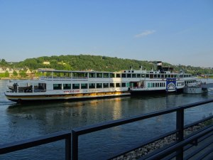 Our Rhine day cruising boat