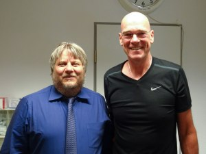 Jeff & Dr. Eberhardt