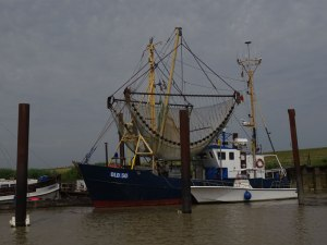 Fishing boats outside of Emden