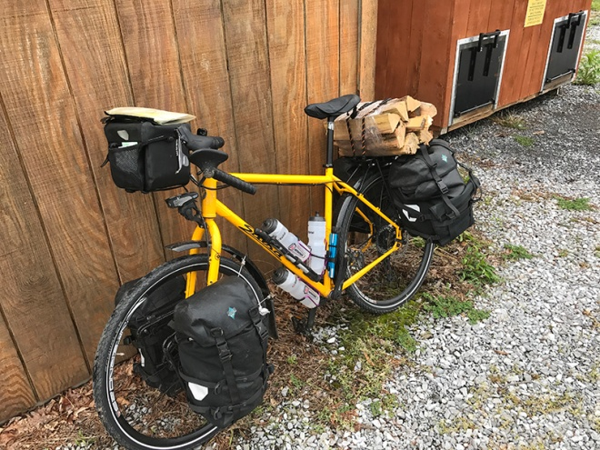 Bike with Firewood