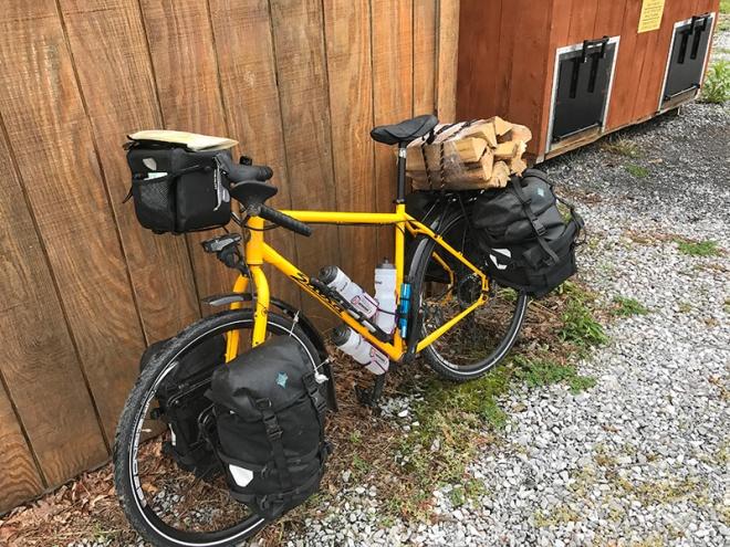 Bike with Firewood