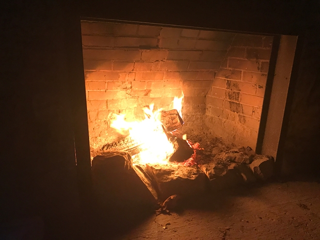 Fireplace - Burnt Cabins, PA