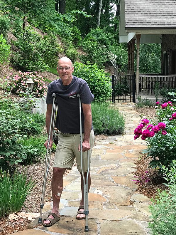 Jeff in Garden