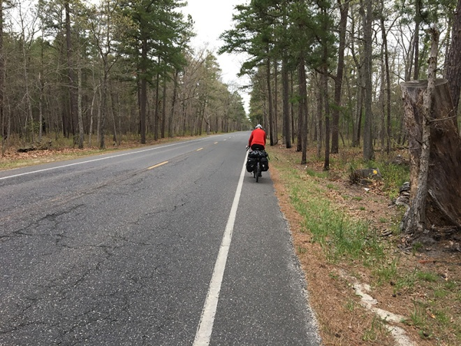 Quiet cycling in the NJ Pine Barrens