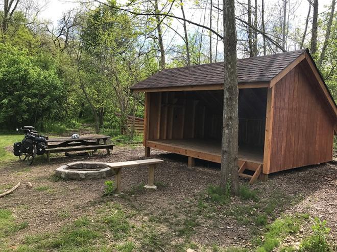 Shelter - Montour Trail