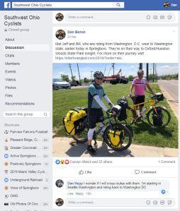 We're on Dan's Facebook Page